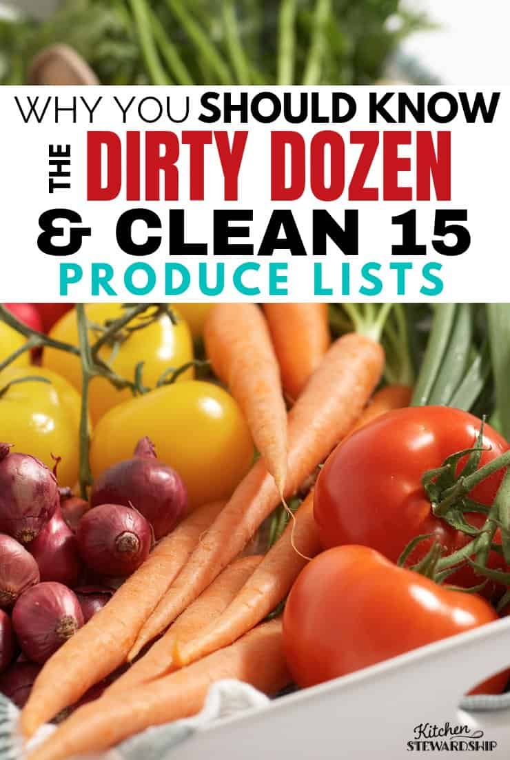 Why you should know the dirty dozen produce list