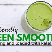 Recipe Connection:  Green Smoothie with Kale