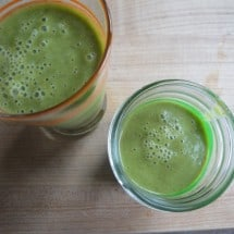 Recipe Connection:  Green Smoothies with Kale