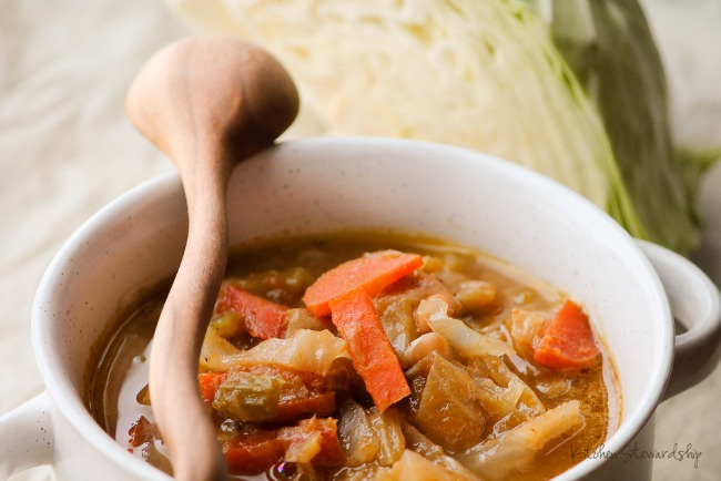 Under $3 to feed 10 people? Cabbage Soup with Secret Super Food - PACKED with nutrition!
