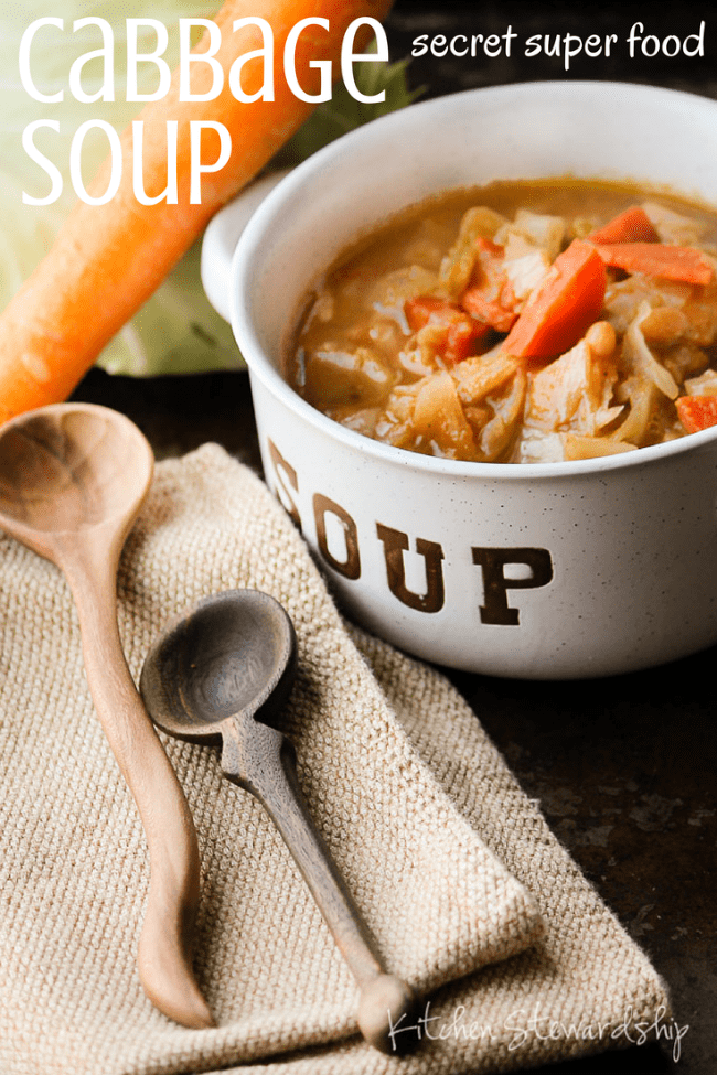 Cabbage Soup Secret Super Food
