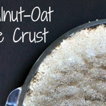 Recipe Connection: Walnut-Oat Pie Crust