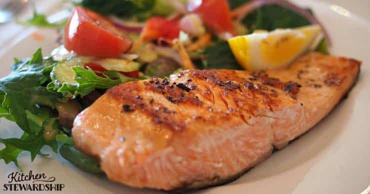 Most American's are deficient in Omega-3's. Here's why we need them and some great place to get them- salmon and flax!