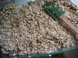 recipe for simple homemade granola
