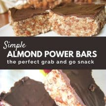 Almond Power Bars