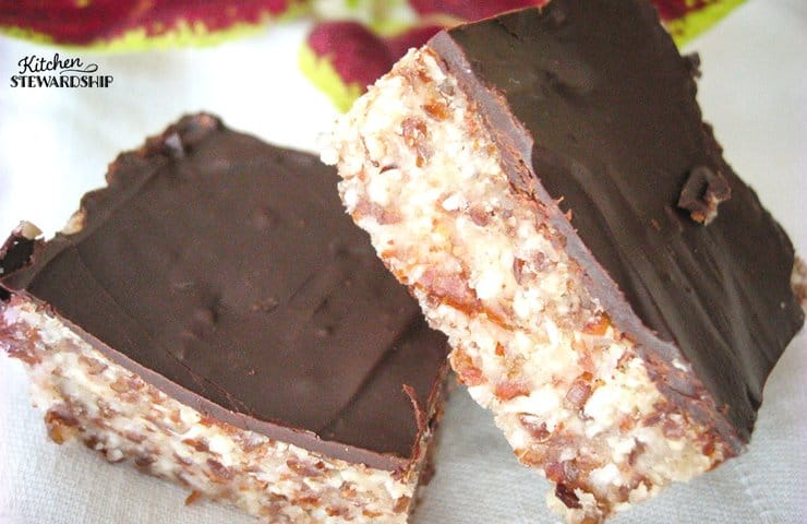 Almond Power Bars ~~ It's hard to say whether they're a dessert or a breakfast food!