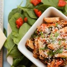 Sausage Spinach Pasta Toss Recipe