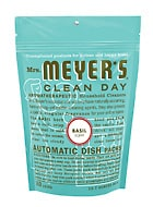 Mrs Meyers Dishwasher Detergent, Dish Soap, and Room Spray {REVIEW}