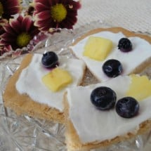 Recipe Connection:  A Healthy (and Tasty!) Version of Fruit Pizza