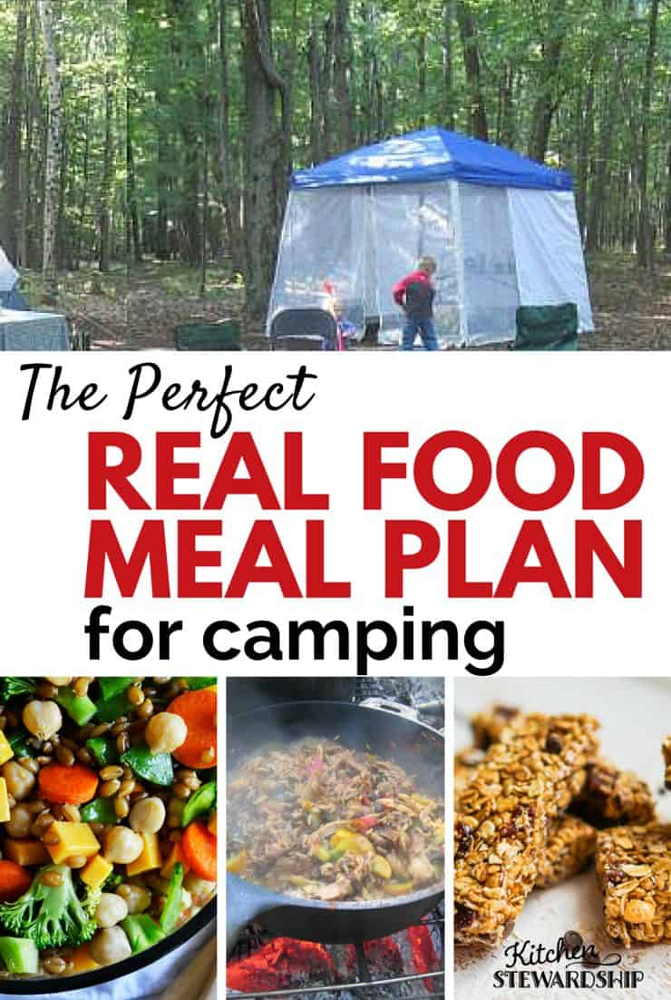 perfect healthy camping meal plan