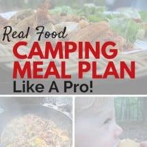 Menu Plan Monday:  Camping Edition
