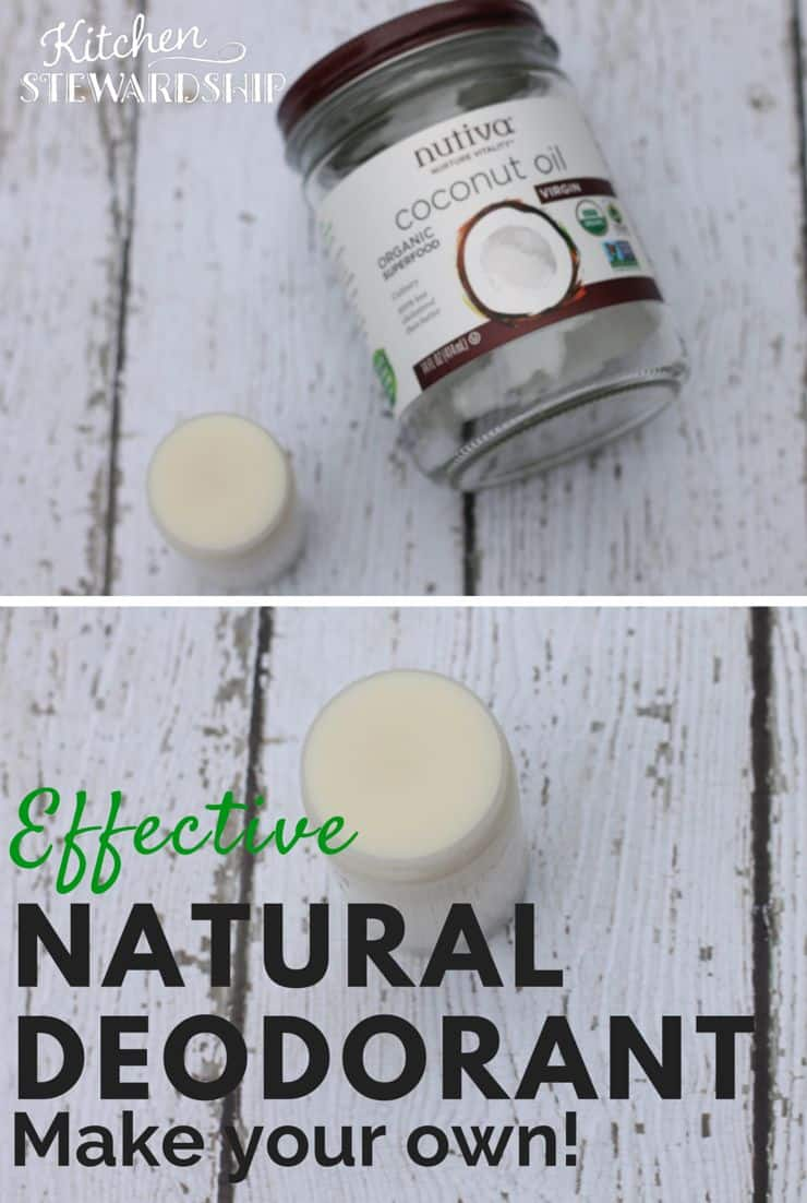Effective Natural Homemade Deodorant