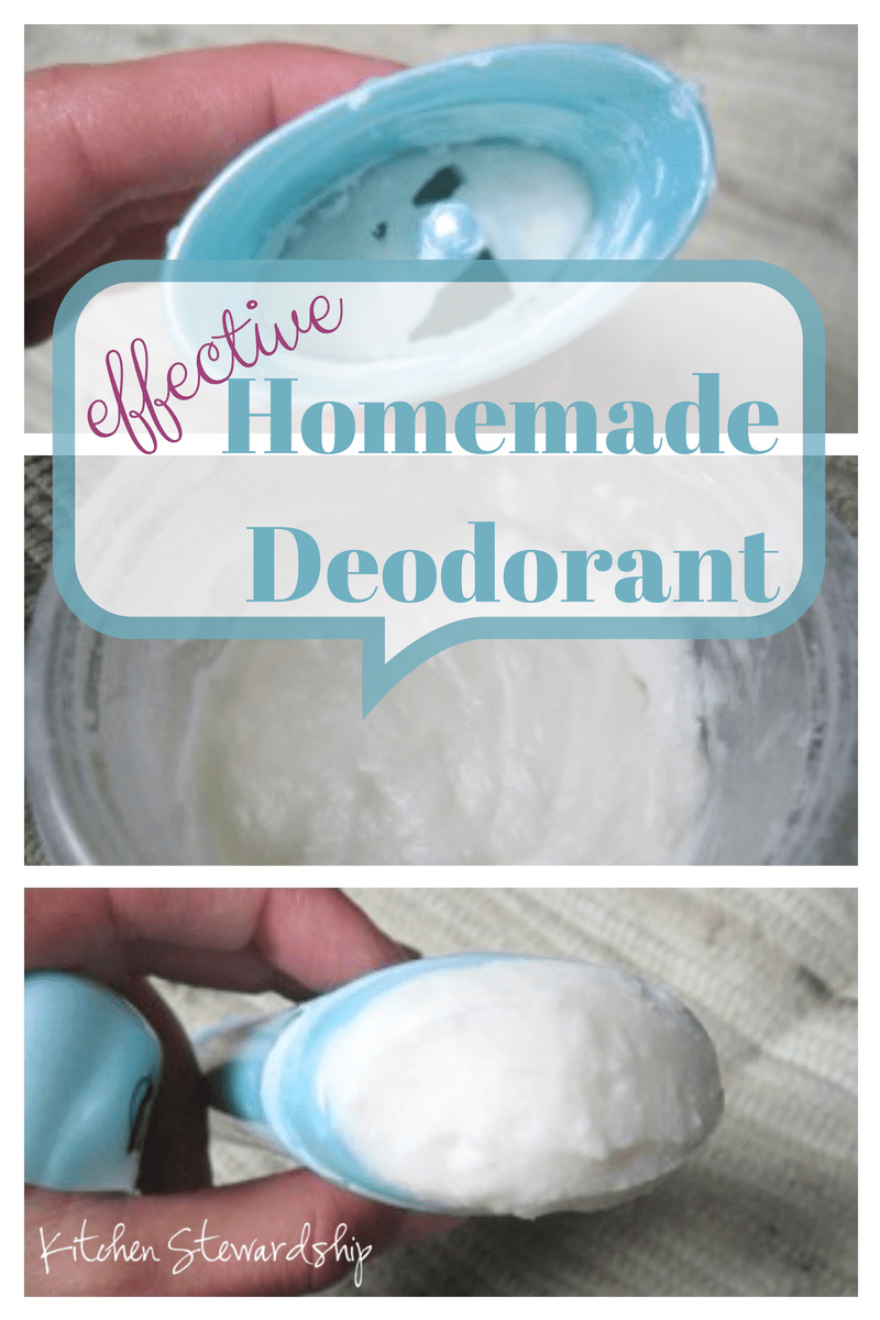 Learn how to make homemade deodorant, including my experiments with quick and easy natural deodorant (like baking soda) first. Making your own deodorant is simple!