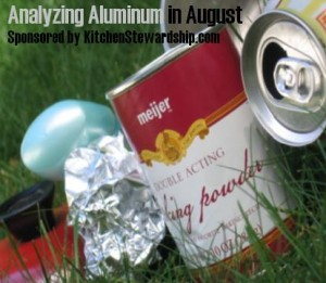 aluminum foil reduce reuse recycle