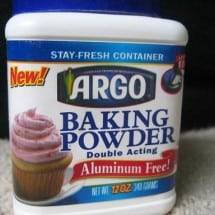 Switch to an Aluminum-Free Baking Powder