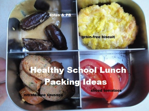 Healthy School Lunch Packing Ideas