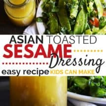 Asian Toasted Sesame Dressing Recipe