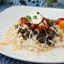 Veggie Bean Burritos Recipe (meatless)