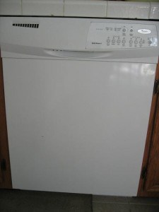 Meet my dishwasher.  It's been through a lot lately.  Send condolences via my email address.