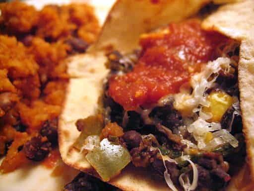 Burritos Recipe Vegetarian. Recipe: Veggie Bean Burritos