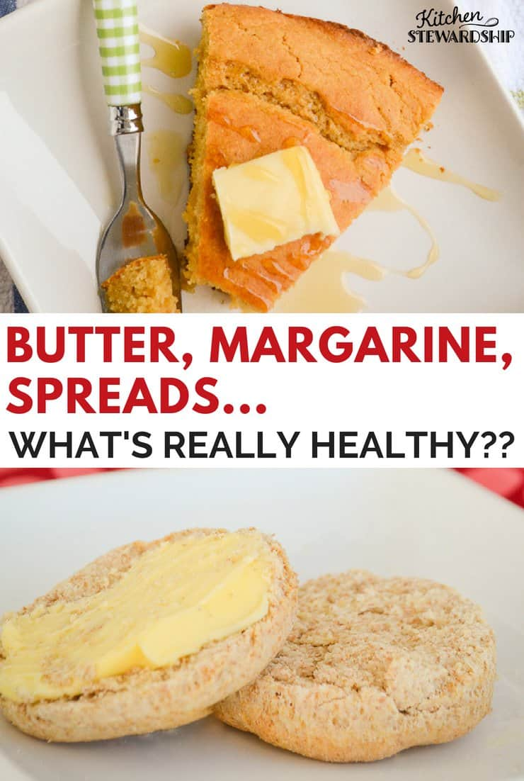Butter, margarine and spreads