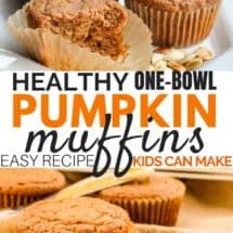One-Bowl Healthy Pumpkin Muffins (or Bread) Recipe