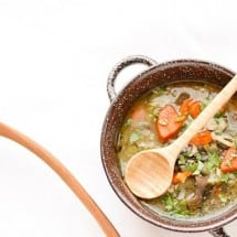 Chicken Barley Leek Soup Recipe