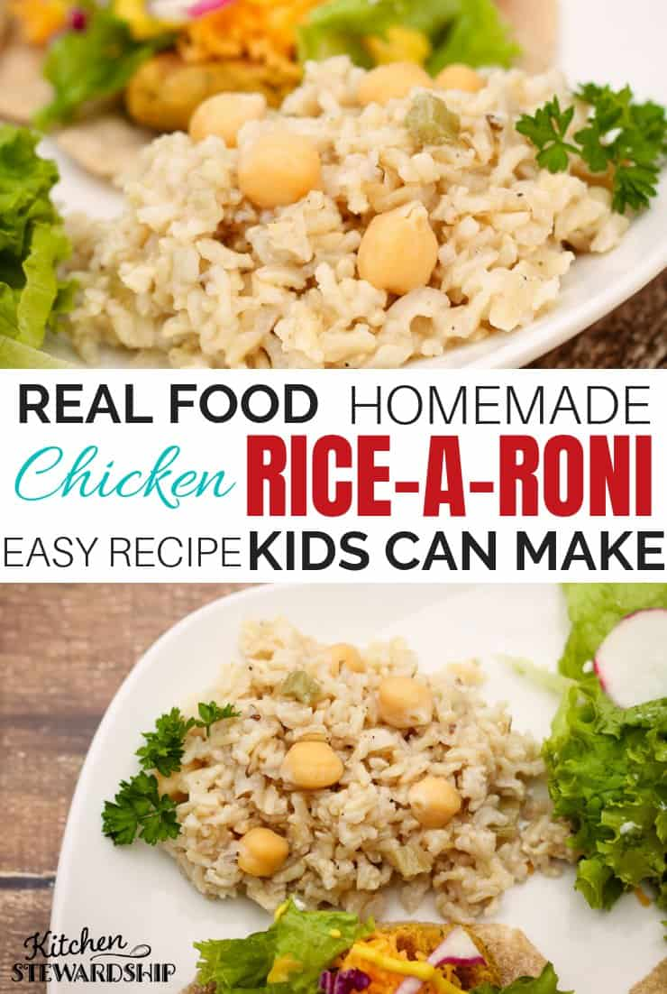 Homemade Chicken Rice-A-Roni