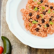 Recipe Connection:  Mexican Beans and Rice