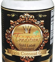 Giveaway:  Tropical Traditions Virgin Coconut Oil