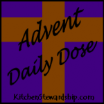 Advent Daily Dose Button