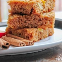 Apple Squares Recipe (You can Freeze 'Em!)