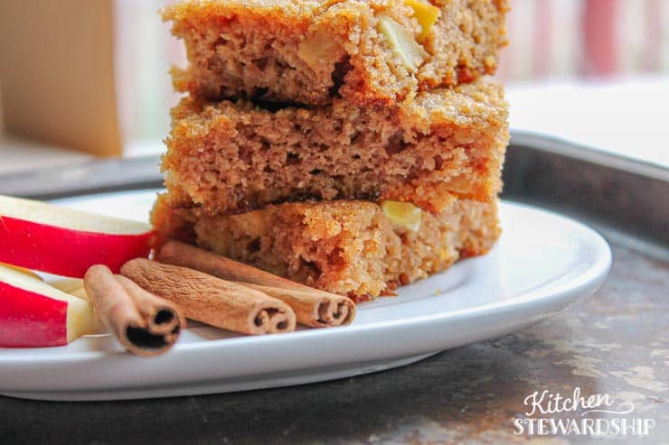 apple squares - Kitchen Stewardship