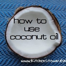FAQs on Coconut Oil and How to Use It