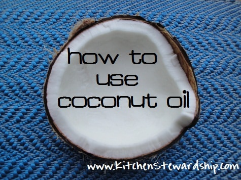 How to use Coconut Oil in cooking, baking, and personal care