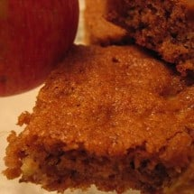 Recipe Connection:  Apple Squares (You can Freeze 'Em!)