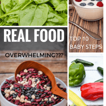 Overwhelmed By Real Food?  Start Here.