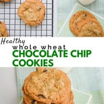 100% Whole Wheat Chocolate Chip Cookies Recipe
