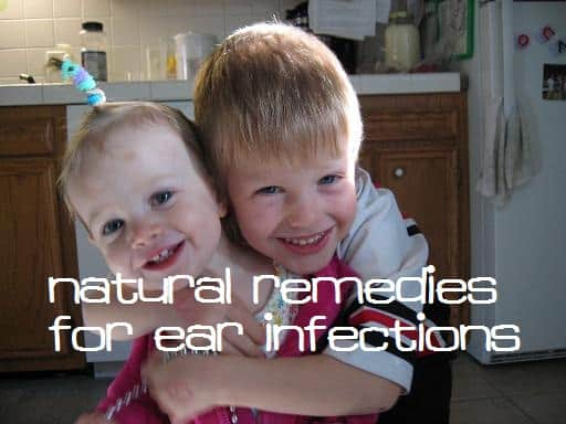 how to naturally cure an ear infection