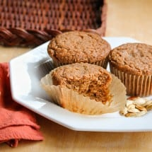 Soaked Healthy Pumpkin Muffins Recipe