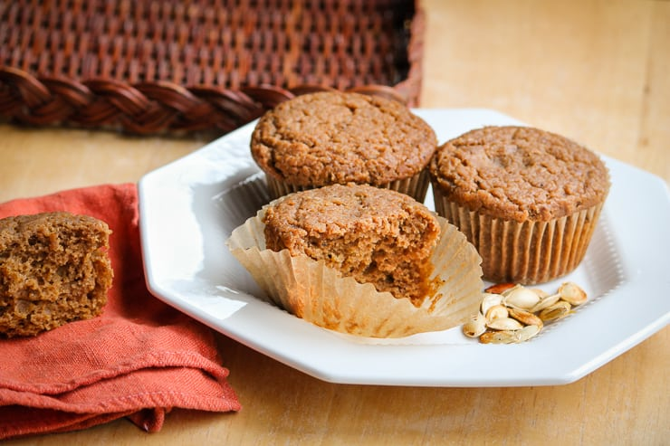 Easy Gluten-free Pumpkin Muffins (19) Resized