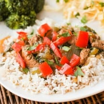 Pepper Steak Recipe (a Real Food Rendition of Hubby's Favorite Meal)