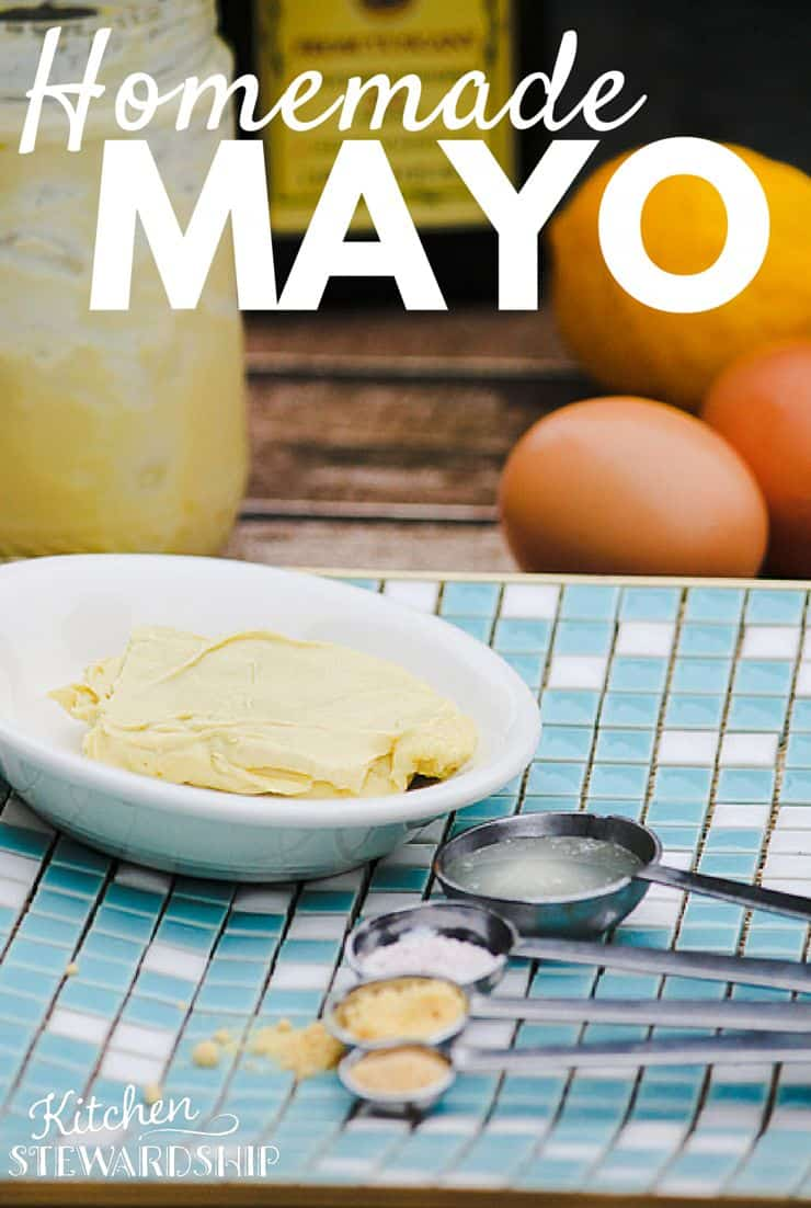 My foolproof method for making homemade mayo! It's so easy, yet so much better for you! You can lacto-ferment it for even more health benefits.