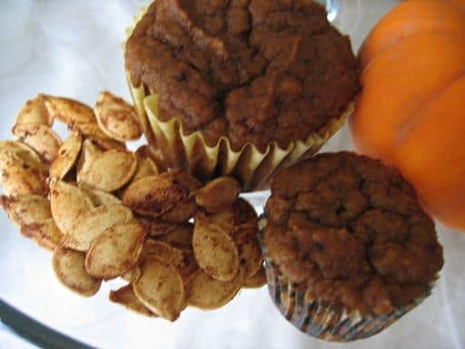 Soaked Pumpkin Muffins