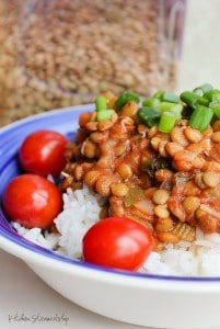 A perfect simple, meatless meal for Lent or as an everyday easy dinner. Soaked legumes, whole grains, and little twist of ACV and soy sauce make this not your average vegetarian fare