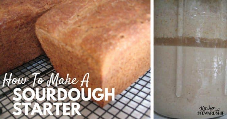 How To Make A Sourdough Starter