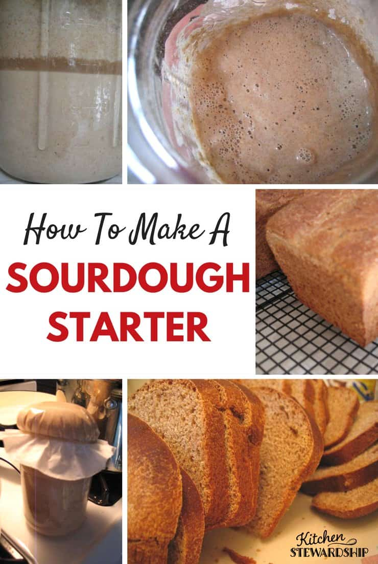 Sourdough is such a great way to prepare whole grains! And making a starter is a simple as mixing flour and water. I'll show you how.