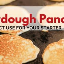 Sourdough Recipes Galore: Sourdough Pancakes