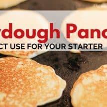 Sourdough Recipes Galore: Sourdough Pancakes