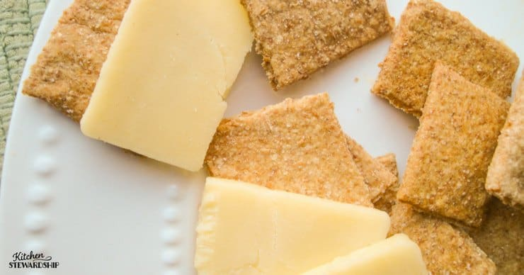 homemade crackers for parties